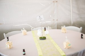 Apple Green Table Runners