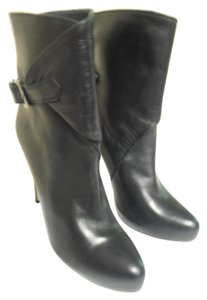 Charles David Leather Sole black Boots