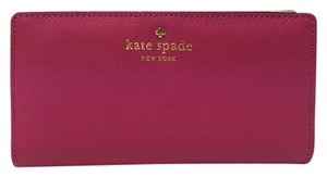 Kate Spade New Kate Spade Mikas Pond Stacy Wallet Sweet Heart Pink