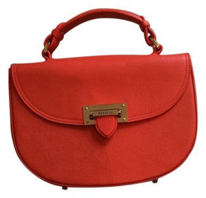 Aspinal of London Leather Letterbox Shoulder Bag