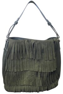 Free People Tote in Olive Green