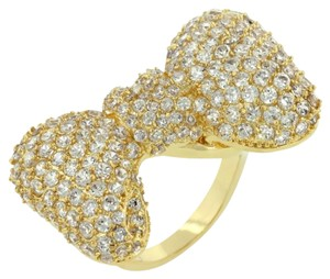 Other Bow Tie Cubic Zirconia Ring