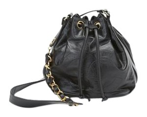 Chanel Vintage Bucket Cross Body Bag