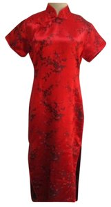 Ziangyu Vintage Asian Cheongsam Dress