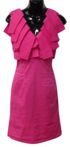 Minuet Petite short dress Hot pink on Tradesy
