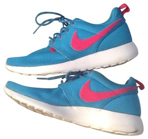 Nike Blue with Pink swoosh Athletic