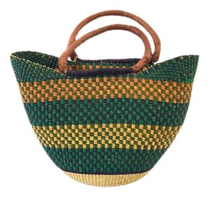 Other Handmade Woven Ethnic Tote in Multi-Color