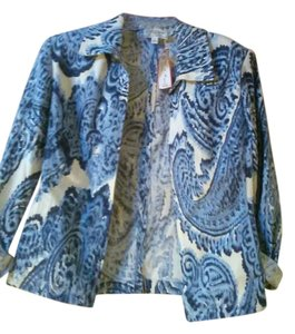 St. John blue white Jacket