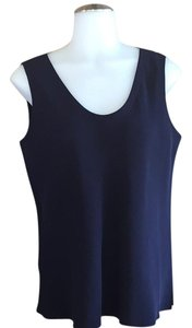Euleen Fisher Top Navy Blue