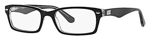 Ray-Ban Ray-Ban RB RX 5206 2034 Black and Crystal Acetate -FREE 3 DAY SHIPPING