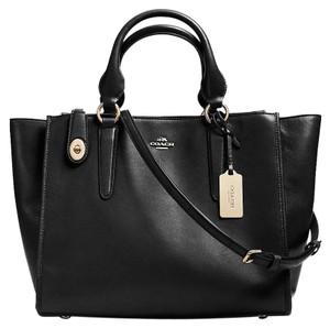 Coach New With Tag Satchel in black