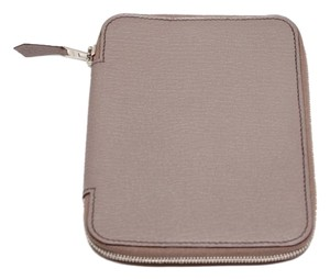 Hermès Hermes Lilac Chevre Couverture Agenda GM Zip-Around