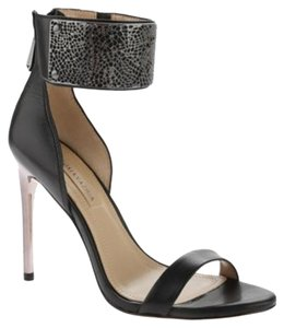BCBGMAXAZRIA Bcbg Stiletto Everling Black Dress Calf Sandals