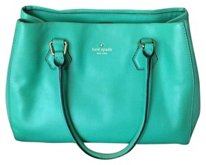 Kate Spade Catherine Street Satchel in Green