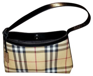 Burberry Satchel in Blk/Beige/