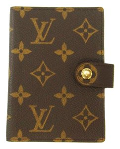 Louis Vuitton Monogram Canvas Etui Palm Misc Portfolio Receipts Wallet