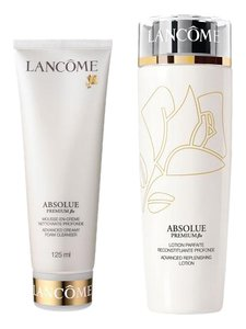 Lancome Absolue Replenishing Lotion, Advanced Creamy Cleanser Duo