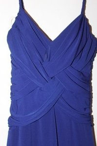 Laundry by Shelli Segal Criss-cross Wrap With Padded Bust Dress