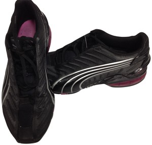 Puma black, silver, pink Athletic
