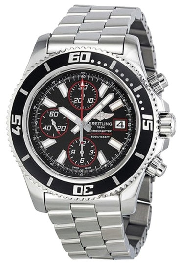 Breitling Breitling Superocean Chronograph II Black and Red Abyss Dial A13341A8-BA81SS
