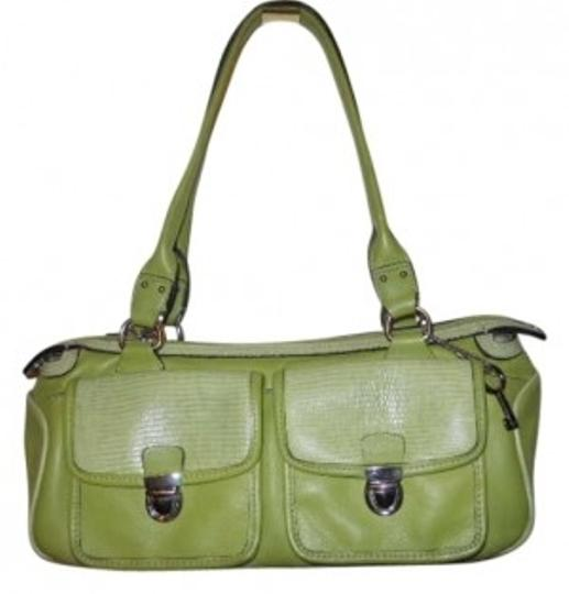 Preload https://item1.tradesy.com/images/fossil-lime-green-leather-baguette-186390-0-0.jpg?width=440&height=440