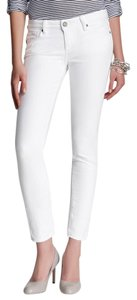Paige Denim Crop Peg Skinny Jeans