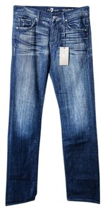 7 For All Mankind Women's Pant Boot Cut Jeans-Medium Wash
