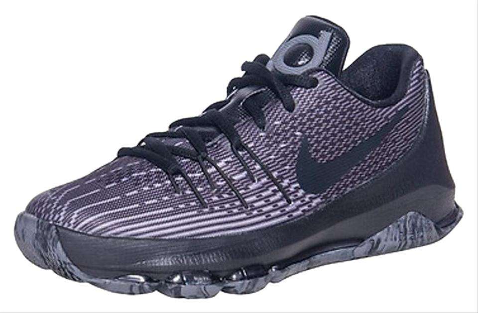 new arrival 88550 8bfb9 Nike Kids Sneakers Gifts For Kids Kids Fashion Basketball Kd Grey and black  Athletic ...