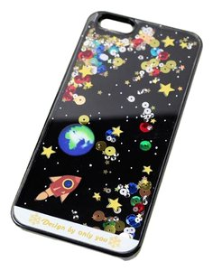 BRAND NEW Liquid Planet Space Floating Hard Case iPhone6S 5.5 Inch