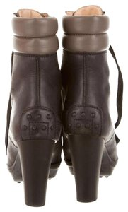 Tod's Black & Taupe Boots