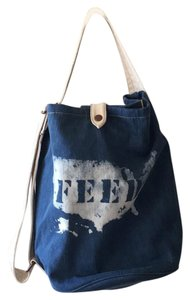 Gap Feed Backpack Tote in Blue