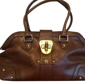 Etienne Aigner Satchel in Brown