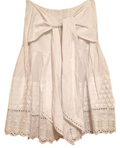 SUNO Skirt White