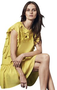 BCBGMAXAZRIA short dress LT LEMONGRASS Bcbg Lemon Jadie Blossom on Tradesy