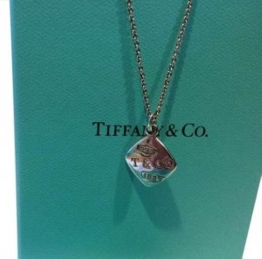 Preload https://item3.tradesy.com/images/tiffany-and-co-sterling-silver-co-1837-square-pendant-necklace-186437-0-0.jpg?width=440&height=440