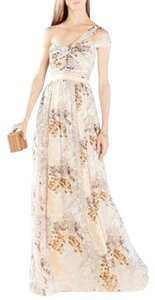 BCBGMAXAZRIA Bcbg Igna One Shoulder Gown Dress