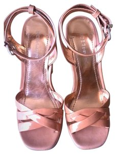 BCBGeneration Peach/nude Wedges