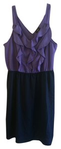 Mossimo Supply Co. short dress Black and violet on Tradesy