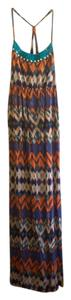 Multicolor print dress Maxi Dress by Mossimo Supply Co. Maxi