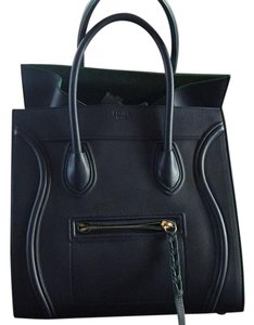 Céline Tote in Navy&Green