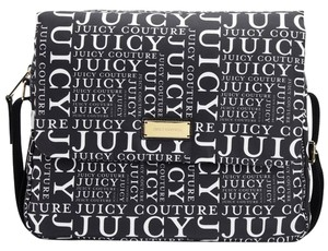 Juicy Couture New With Tag Black & White Diaper Bag