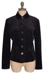 INC International Concepts Corduroy BLACK Jacket