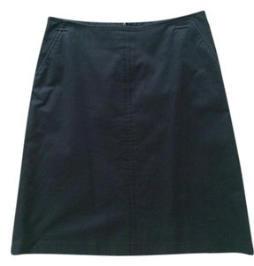 Banana Republic Skirt Off black