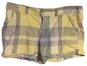 Old Navy Cuffed Shorts Yellow and Grey