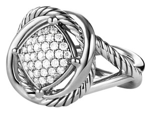 David Yurman David Yurman Infinity Large Pave Diamond Ring