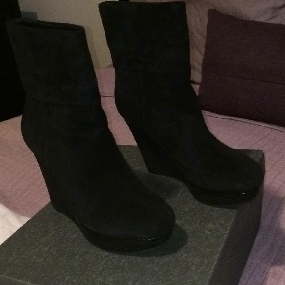 Via Spiga Black Suede Suede Black V-abbot Boots/Booties 37f103