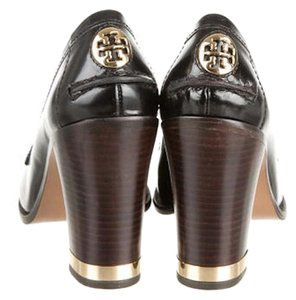 Tory Burch Black Penny Loafer Pumps