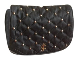 Juicy Couture Leather Quilted Gold Cross Body Bag