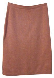 American Apparel Knit Skirt Indian Pink