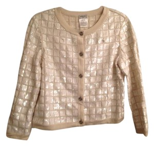 Chanel Made In France Ivory Jacket